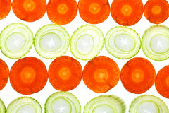 Carrot and Leek Stock Photos