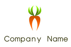 Carrot  logo Stock Photography