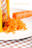 Carrot macro shot Royalty Free Stock Photos