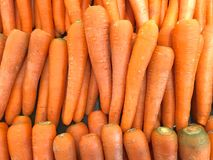 Carrot in the market. Stock Image