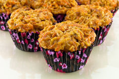 Carrot Muffins Royalty Free Stock Photos