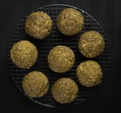 Carrot muffins Royalty Free Stock Image