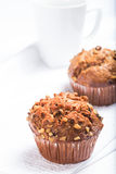 Carrot Muffins Royalty Free Stock Photo