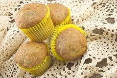 Carrot Nut Muffins Royalty Free Stock Photo