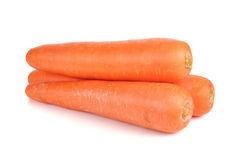 Carrot on a over white background Stock Photography