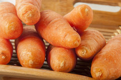 Carrot over wooden background Stock Photography