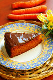 Carrot pie Royalty Free Stock Images