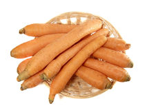 Carrot in the punnet Royalty Free Stock Images