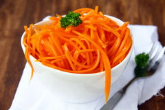 Carrot salad Stock Images