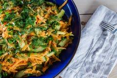 Carrot salad Stock Photos