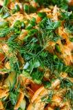 Carrot salad Stock Photo