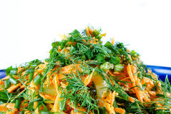 Carrot salad Stock Photo