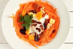 Carrot salad Royalty Free Stock Image