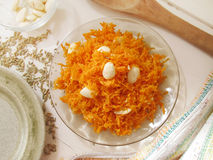 Carrot salad. Royalty Free Stock Images