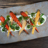 Carrot Salad royalty free stock photo