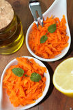 Carrot salad Royalty Free Stock Image