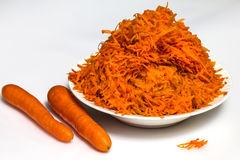 Carrot salad Stock Photography