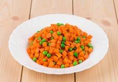 Carrot salad Stock Image