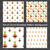 Carrot Seamless pattern background 002 Royalty Free Stock Image