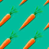 Carrot seamless pattern Royalty Free Stock Photography