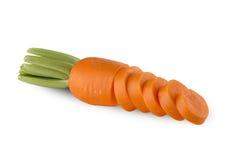 Carrot Slice Stock Image