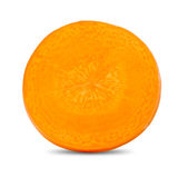 Carrot Slice Royalty Free Stock Photography