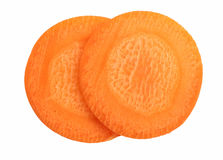 Carrot slice Stock Image