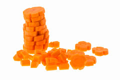 Carrot slice Stock Photo