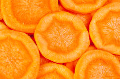 Carrot  sliced Royalty Free Stock Image
