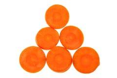 Carrot sliced Stock Photos
