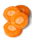 Carrot slices Stock Photos