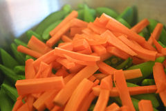 Carrot Slices Stock Images