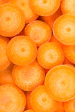 Carrot slices Royalty Free Stock Photo