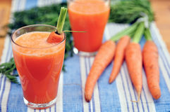 Carrot Smoothie Royalty Free Stock Image