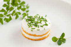 Carrot Snack Appetizer Stock Image