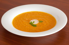 Free Carrot Soup Royalty Free Stock Photos - 31333928
