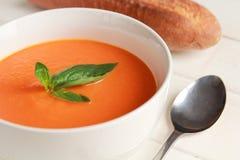 Carrot soup Royalty Free Stock Photos