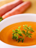 Carrot Soup Stock Photos