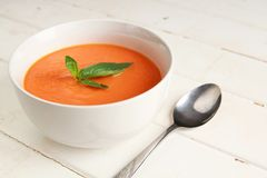 Carrot soup Royalty Free Stock Photos