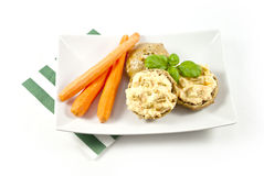 Carrot spreads Stock Photography