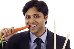 Carrot & Stick Stock Image