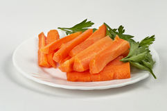 Carrot sticks Royalty Free Stock Photography