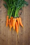 Carrot on the table Royalty Free Stock Photos