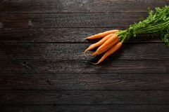 Carrot on table Royalty Free Stock Photos