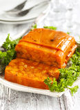 Carrot terrine. Royalty Free Stock Photography