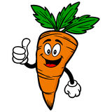 Carrot with Thumbs Up Stock Photos