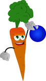 Carrot training with kettlebell Stock Photography
