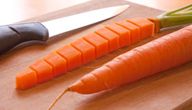 Carrot transformation Stock Image