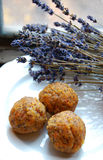 Carrot truffles with poppy seeds Stock Photography