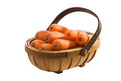 Carrot Trug Royalty Free Stock Photos
